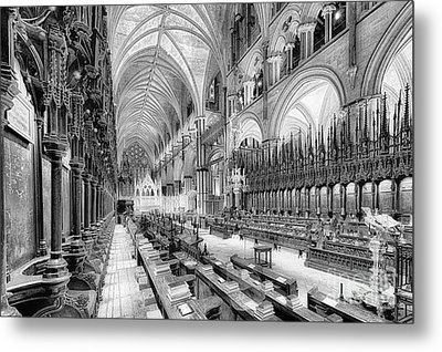 Lincoln Cathedral The Choir I Metal Print by Jack Torcello