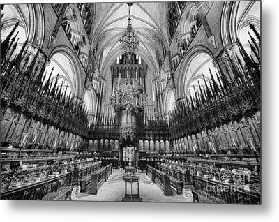 Lincoln Cathedral The Choir II Metal Print by Jack Torcello