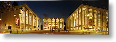 Metal Print featuring the photograph Lincoln Center At Night by Yue Wang