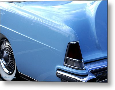 Lincoln Continental  Metal Print by Barbara Snyder