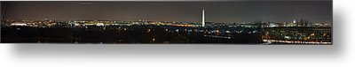 Lincoln Memorial And Washington Monument - Washington Dc - 01131 Metal Print by DC Photographer