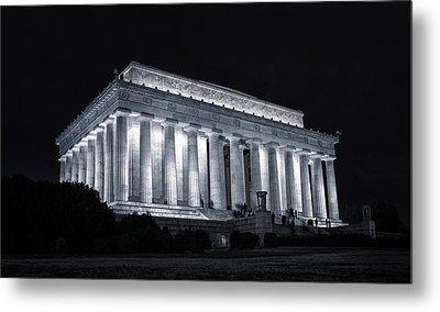 Lincoln Memorial Metal Print by Joan Carroll