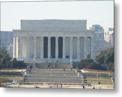 Lincoln Memorial - Washington Dc - 01131 Metal Print by DC Photographer