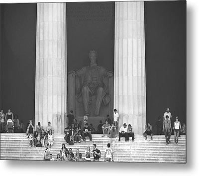 Lincoln Memorial - Washington Dc Metal Print by Mike McGlothlen