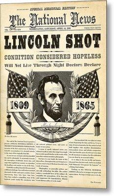 Lincoln Shot Metal Print by Gary Grayson