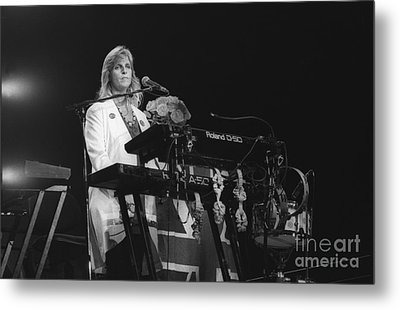 Linda Mccartney Metal Print