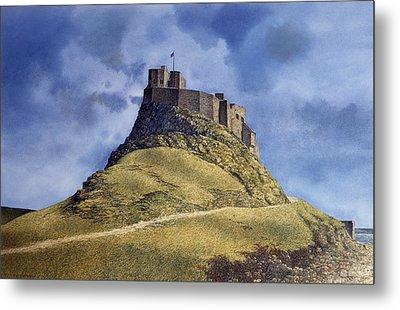 Lindisfarne Castle Metal Print by Tom Wooldridge