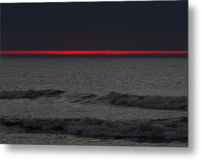 Line Of Fire Metal Print