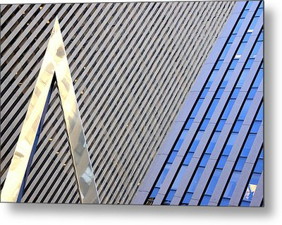 Lines And Parallelism Metal Print by Valentino Visentini