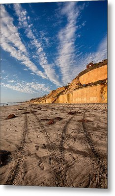 Lines Lines And Lines Metal Print by Peter Tellone