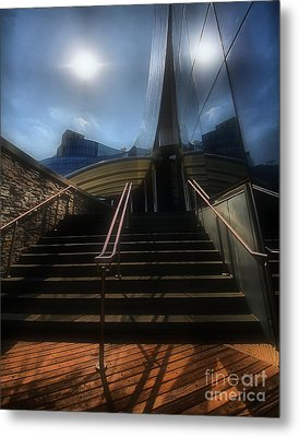 Metal Print featuring the photograph Lines N Textures by Robert McCubbin