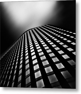 Lines Of Learning Metal Print by Dave Bowman