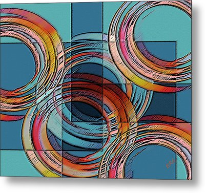 Links Metal Print by Ben and Raisa Gertsberg