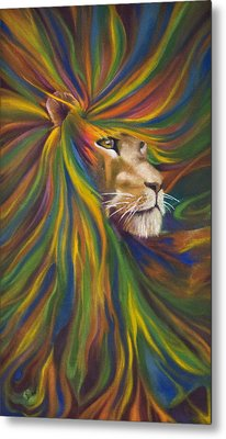 Lion Metal Print by Kd Neeley