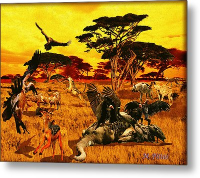 Lion Kill Morning After'98 Metal Print
