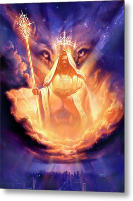 Lion Of Judah Metal Print by Jeff Haynie