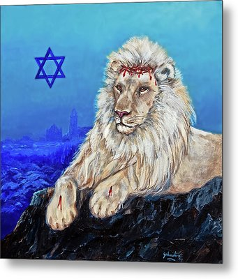 Lion Of Judah - Jerusalem Metal Print