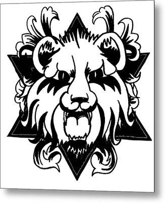 Lion Of Judah Metal Print by Marvin Barham