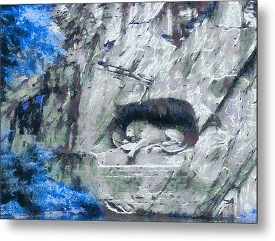 Lion Of Lucerne Metal Print by Dan Sproul