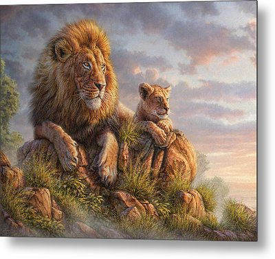 Lion Pride Metal Print by Phil Jaeger