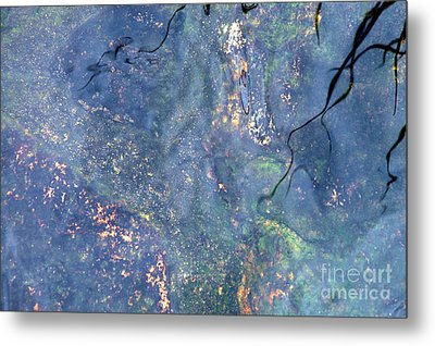 Liquid Light Metal Print by Allen Carroll