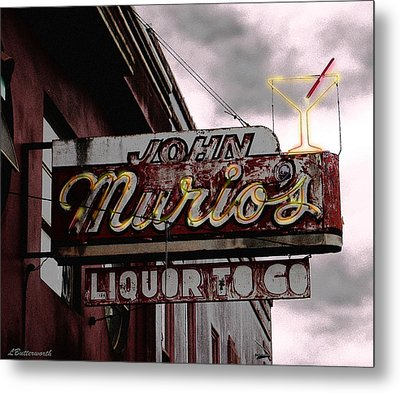 Liquor To Go Metal Print by Larry Butterworth