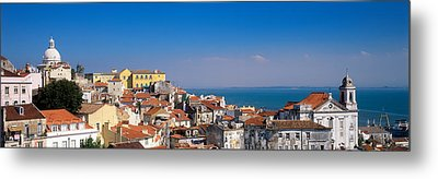 Lisbon, Cityscape, Skyline, Portugal Metal Print by Panoramic Images