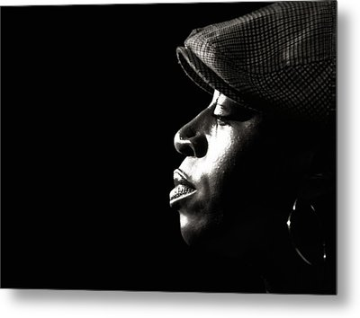 Metal Print featuring the photograph Listen by Michel Verhoef