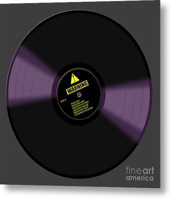 Listening Pleasure Metal Print by Saad Hasnain