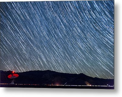 Listening To The Stars Metal Print by Cat Connor