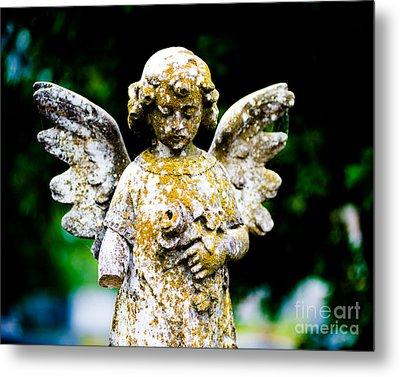 Little Angel Metal Print by Sonja Quintero