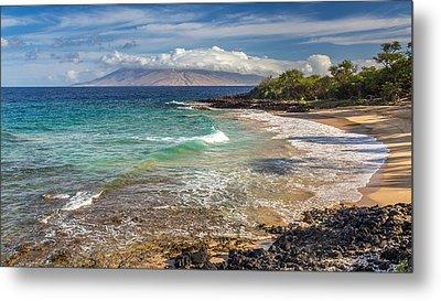 Little Beach Maui Sunrise Metal Print