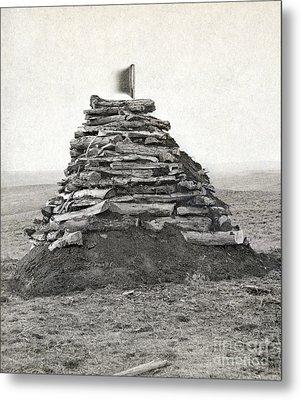 Little Bighorn Monument Metal Print