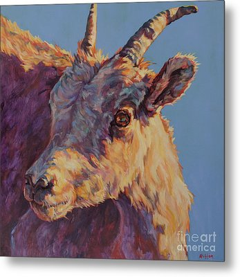 Little Bighorn Metal Print by Patricia A Griffin