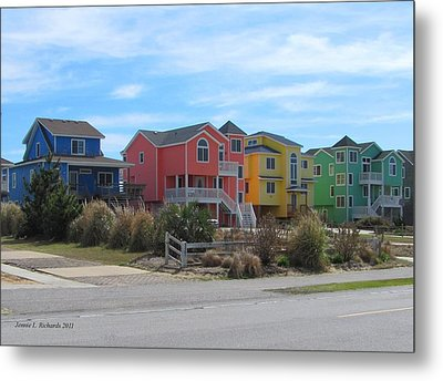 Little Boxes Metal Print