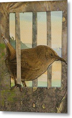 Little Brown Bird Metal Print