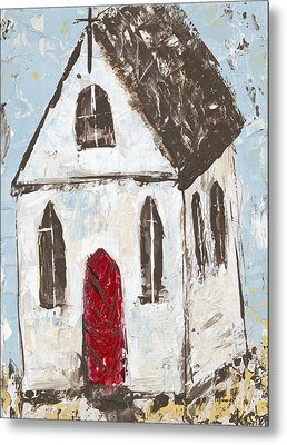 Little Church Metal Print by Kirsten Reed