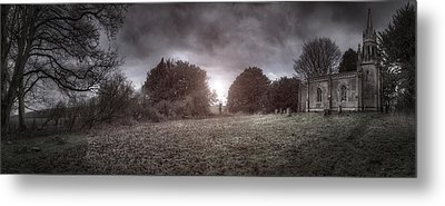 Little Church On The Hill Metal Print by Jason Green