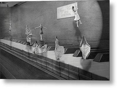 Little Composers II Metal Print by Betsy Knapp