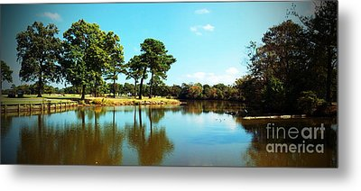 Metal Print featuring the photograph Little Creek by Angela DeFrias