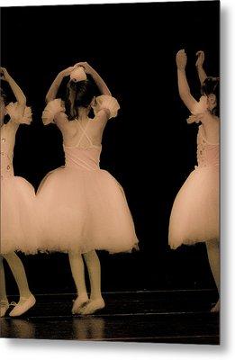 Little Dancers Metal Print by Christie Kowalski