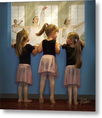 Little Dancing Dreamers Metal Print by Doug Kreuger