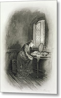 Little Dorrit, From Charles Dickens A Metal Print