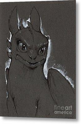 Little Dragon Metal Print by Angel  Tarantella