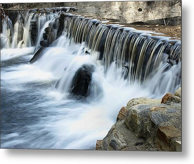 Metal Print featuring the photograph Little Falls by Raymond Earley