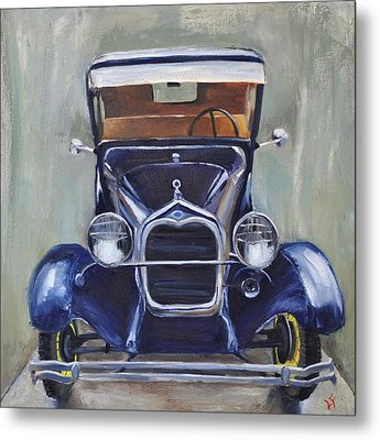Little Henry Metal Print