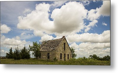 Little House On A Hill Metal Print by Chris Harris