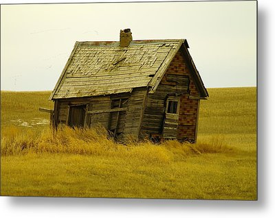Little House On The Big Prairie Metal Print