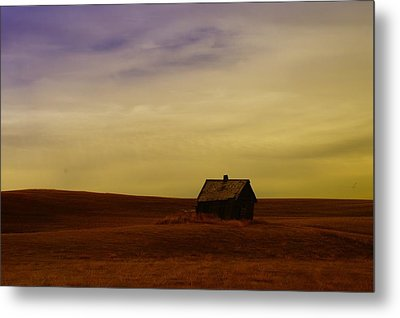 Little House On The Prairie  Metal Print by Jeff Swan
