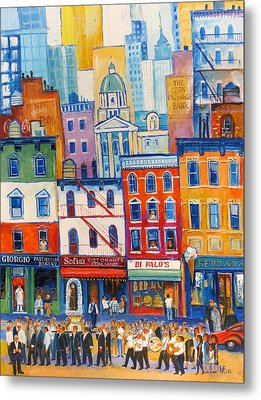 Little Italy New York Metal Print